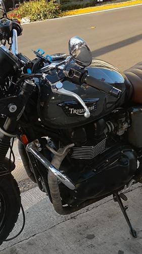 triumph bonneville black