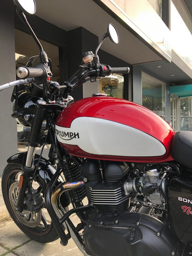 triumph bonneville edicion new church