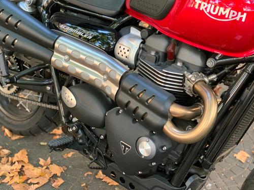 triumph bonneville street scrambler 900