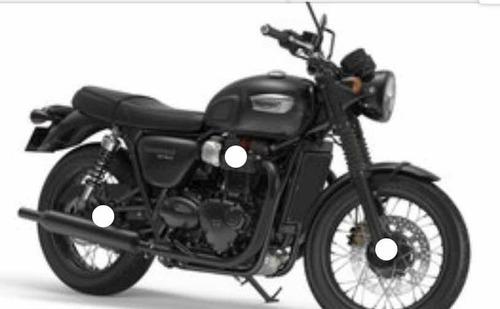 triumph bonneville t100 black patentada 2021!
