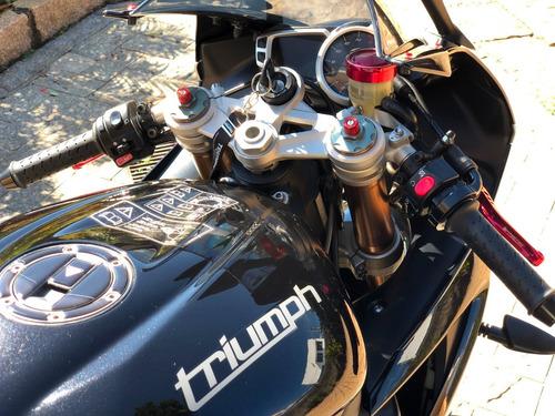 triumph daytona 675 abs 2014 - vários acessórios novos