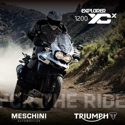 triumph explorer 1200 xcx (oportunidad)