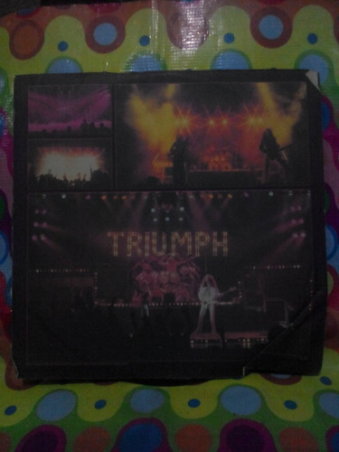 triumph lp allied forces 1981. con incer. importado u.s.a.