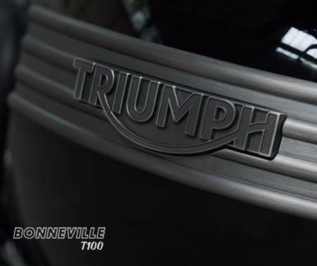 triumph new bonneville t100