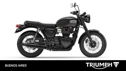 triumph new bonneville t100 black