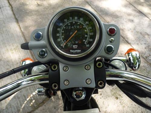 triumph scrambler 2006 carburada!!