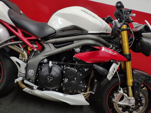 triumph speed triple 1050r 1050 r 2017 branca branco