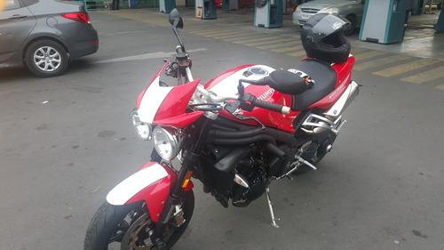 triumph speed triple se   2011   unica en chile