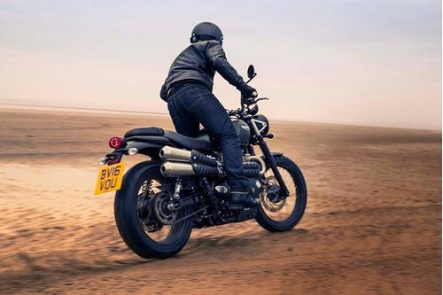 triumph street scrambler 900cc 2018 0km