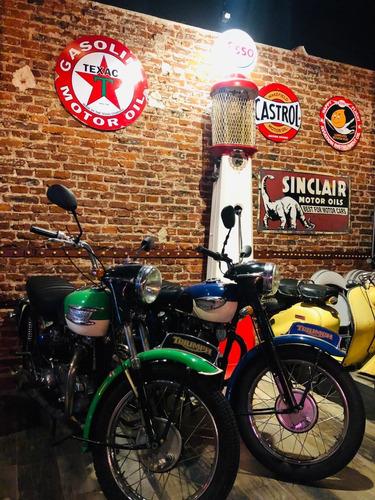 triumph t100  año 1947 500cc pro seven!!
