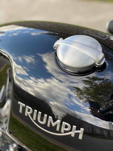 triumph thruxton 1200 okm