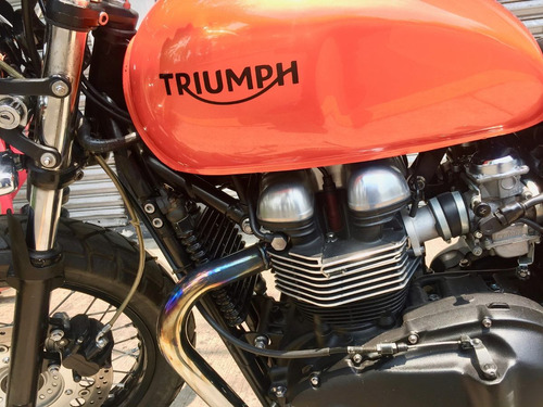 triumph thruxton 900 2013 impecable
