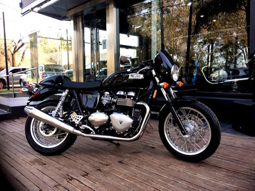 triumph thruxton 900cc - 0 km 2016