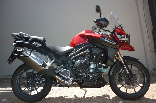 triumph tiger 1200 explores - roda brasil - campinas