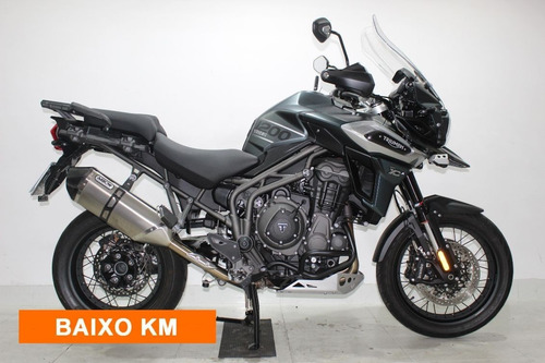 triumph tiger 1200 xca 2018 verde