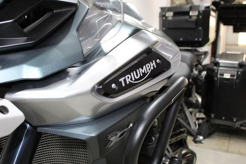triumph tiger 1200 xca 2019 verde