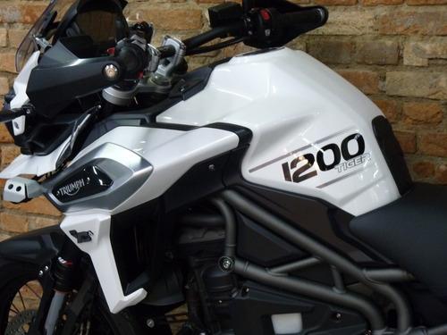 triumph tiger 1200 xca - 5.300km - 2018