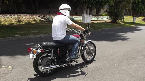 triumph tiger 650 oif de 1971 moto clásica
