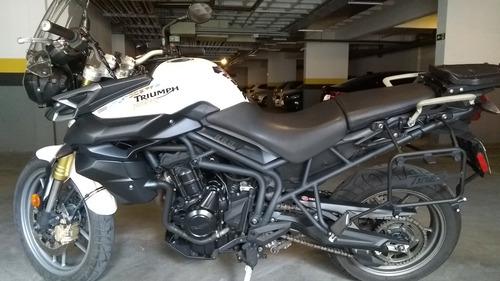 triumph tiger 800 - aceito troca por moto menor