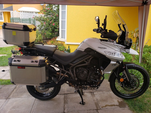 triumph tiger 800 xca adventure 2020 , 4.000 kms