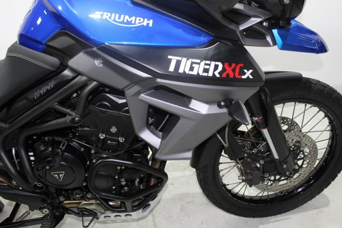 triumph tiger 800 xcx 2015 azul