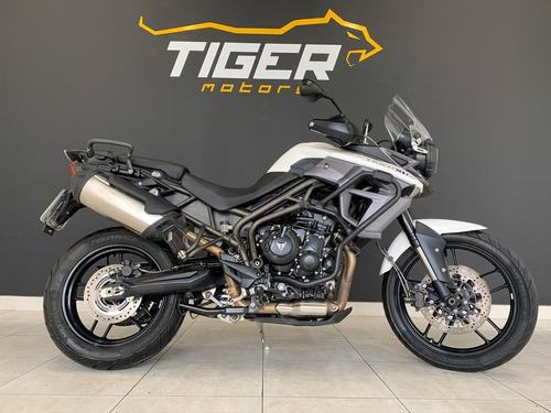 triumph tiger 800 xrx 2016 - 18.000km