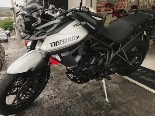 triumph tiger 800 xrx 2017 estado de zero