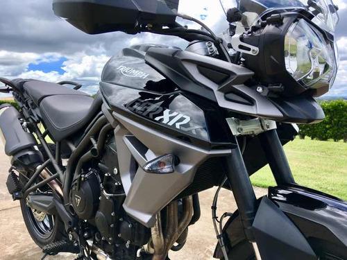 triumph tiger 800 xrx 2017 garantia de fábrica!