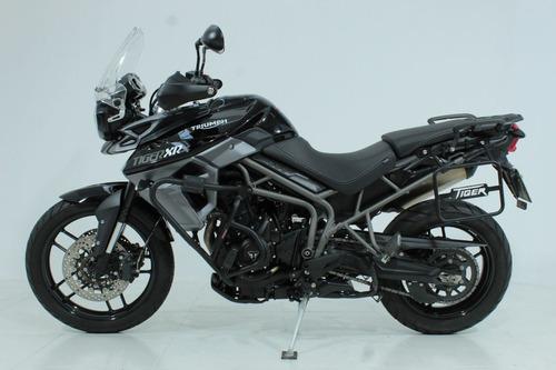 triumph tiger 800 xrx 2018 preta