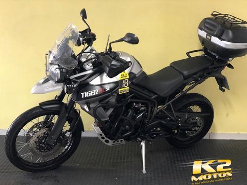 triumph tiger 800xcx (2017/2018) prata