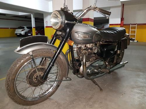 triumph tiger t 110. 1954
