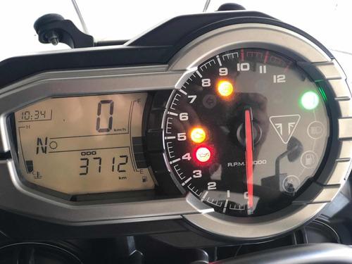 triumph tiger xr 800 2018 3.000km manual+chave reserva