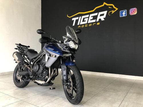 triumph tiger xrx 2018 10.000km manual+chave reserva