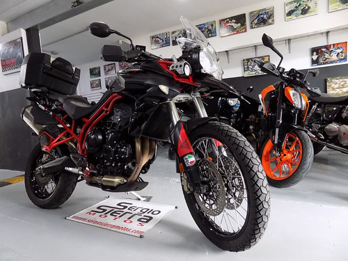 triumph tiger800xc abs negra 2014