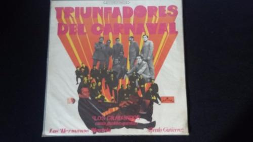 triunfadores del carnaval lp vinilo cumbia porro vallenato