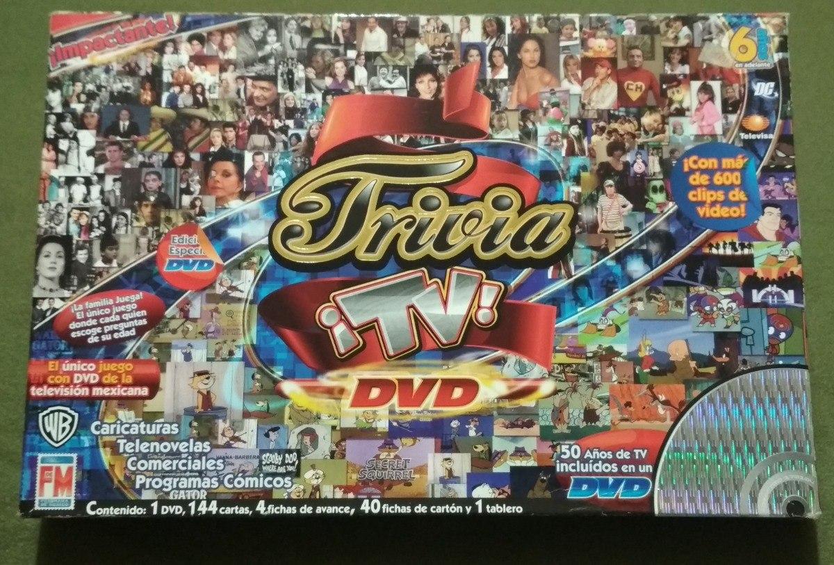 Trivia Tv Juego De Mesa Fotograma De Mexico 250 00 En Mercado Libre