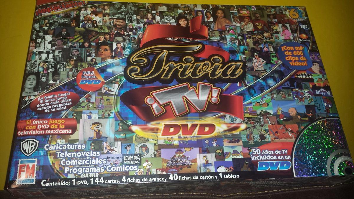 Trivia Tv Juego De Mesa Fotorama De Mexico 350 00 En Mercado