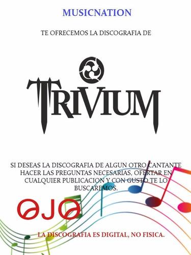 trivium (discografia)