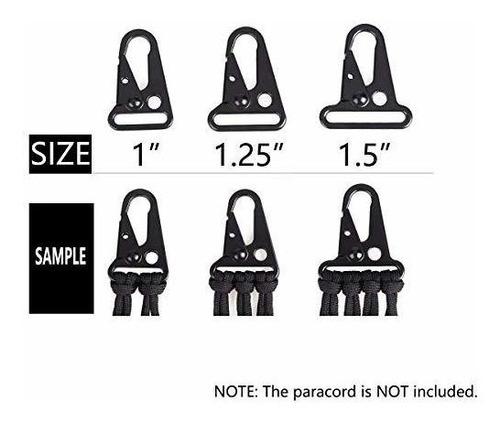 triwonder clips de boca agrandados ganchos para la mochila a