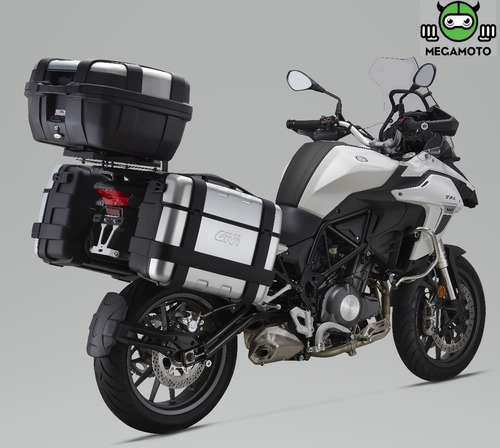 trk 502 benelli  abs + baúles y anclajes laterales
