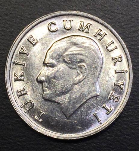 trk001 moneda turquía 1 lira 1984 unc-bu ayff