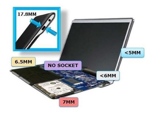 troca cabo flat de vídeo tela piscando de notebooks e ultrab