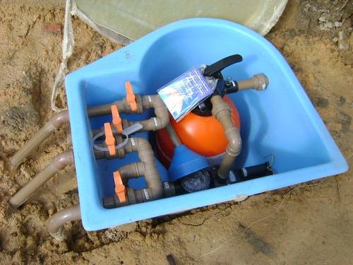 troca de filtro e bomba de piscina