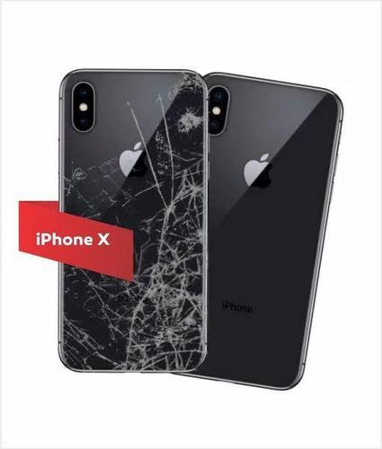 troca de tampa de vidro traseiro iphone 8 ao 12