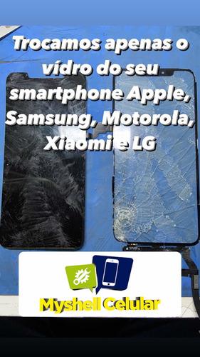 troca de vidro smartphones