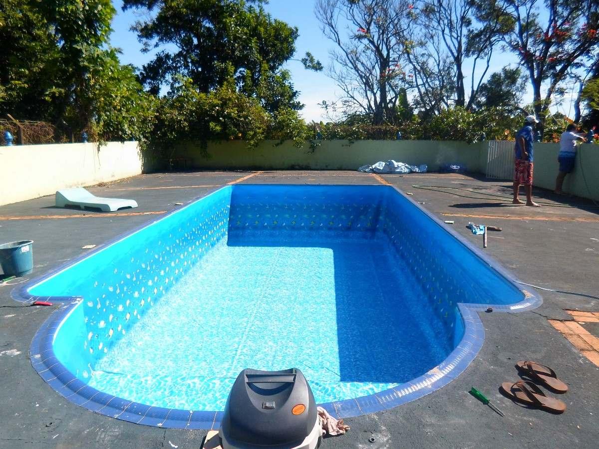 Troca de vinil para piscinas r 60 56 em mercado livre for Compra de piscinas