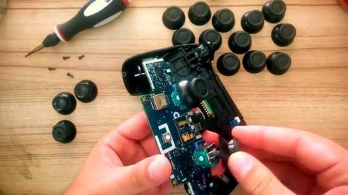 troca do botão l3 e r3 do controle de ps4 .