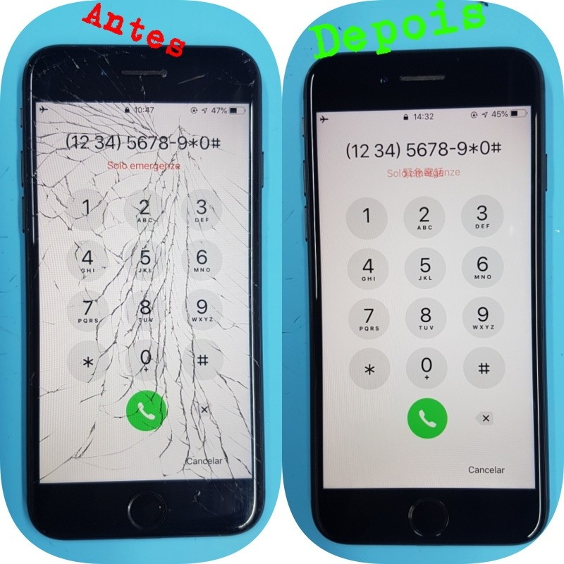 164da4fb5c7 Troca Do Vidro Iphone 7 Plus