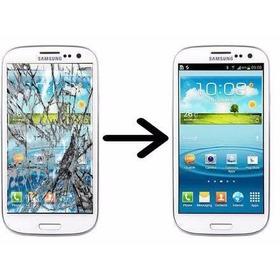 Troca Do Vidro Touch Display Samsung S3
