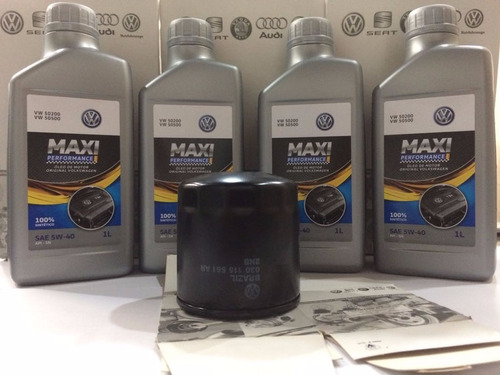 troca oleo castrol maxi perf 5w40 original vw 100% sintetico